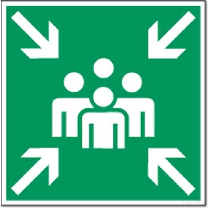 Positie Van Verzamelplaats (Sticker)