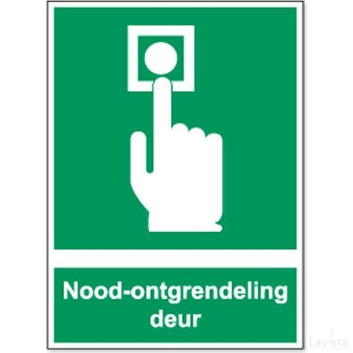Deurontgrendeling (Sticker)