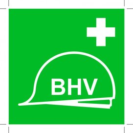 Verzameling Bhv-middelen 400x400 (sticker)