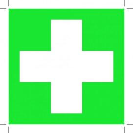 First Aid (Sticker)