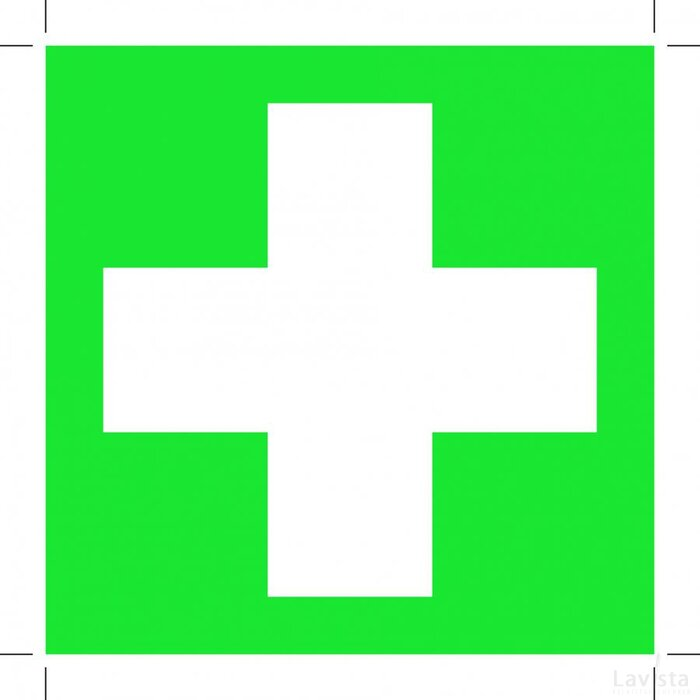 First Aid 100x100 (sticker)