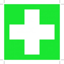 First Aid 150x150 (sticker)