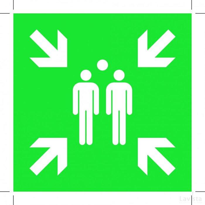 Evacuation Assembly Point (Sticker)
