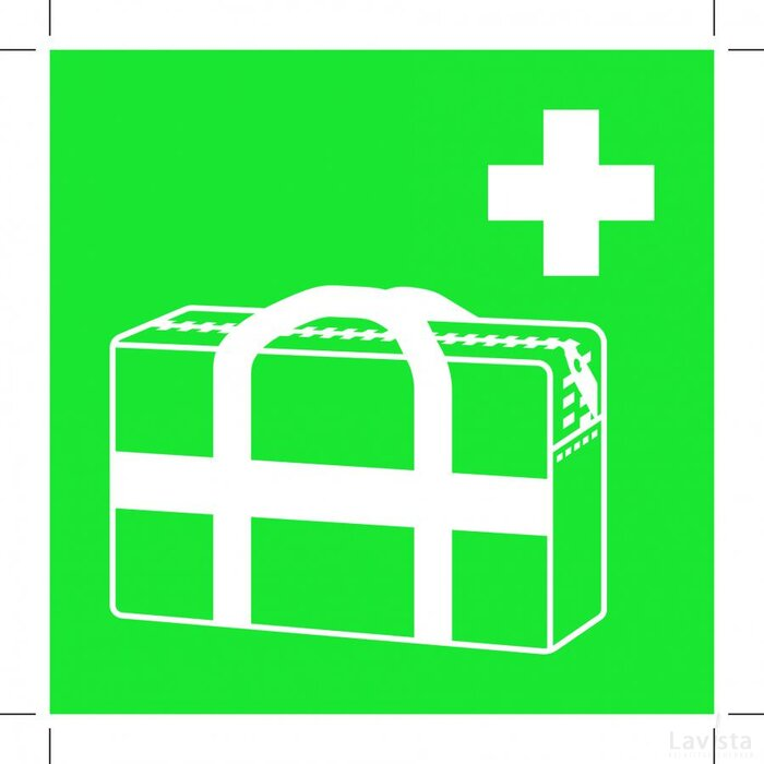 E027: Medical Grab Bag 100x100 (bordje)