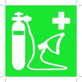 E028: Oxygen Resuscitator 200x200 (sticker)