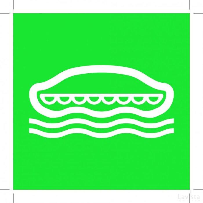 E036: Lifeboat 200x200 (sticker)