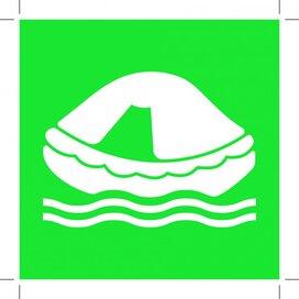 E038: Liferaft 400x400 (sticker)