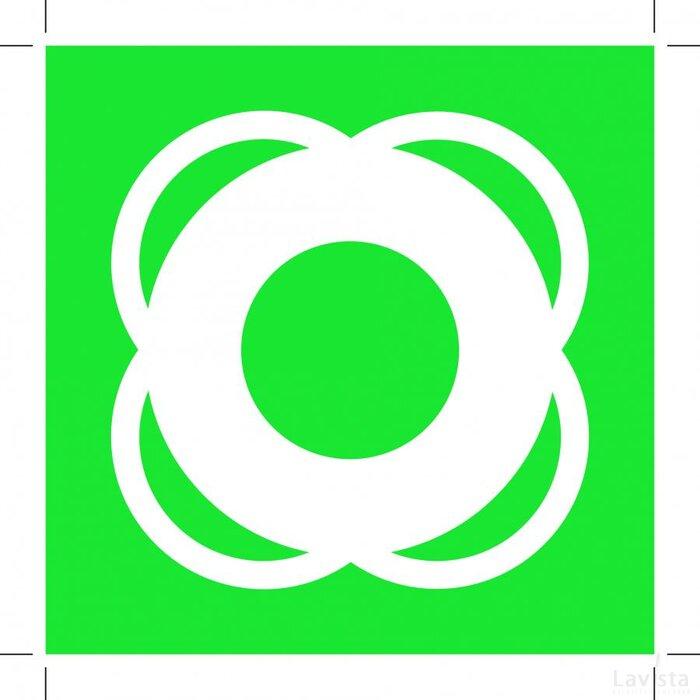 E040: Lifebuoy (Sticker)