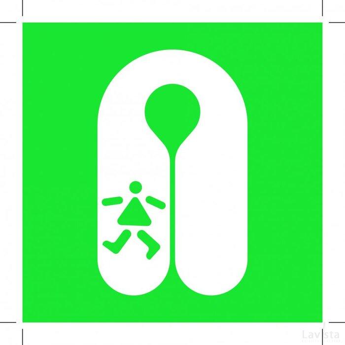 E045: Child's Lifejacket 200x200 (sticker)