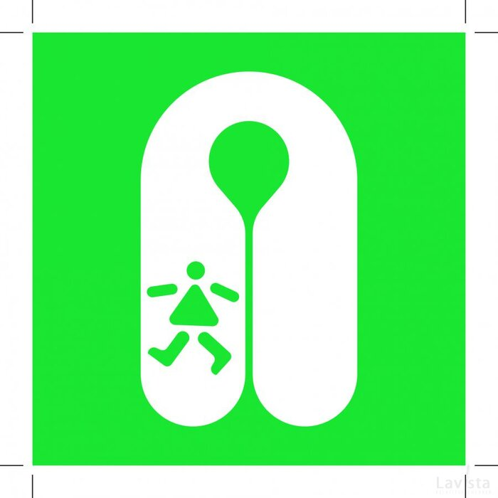 E045: Child's Lifejacket 300x300 (sticker)