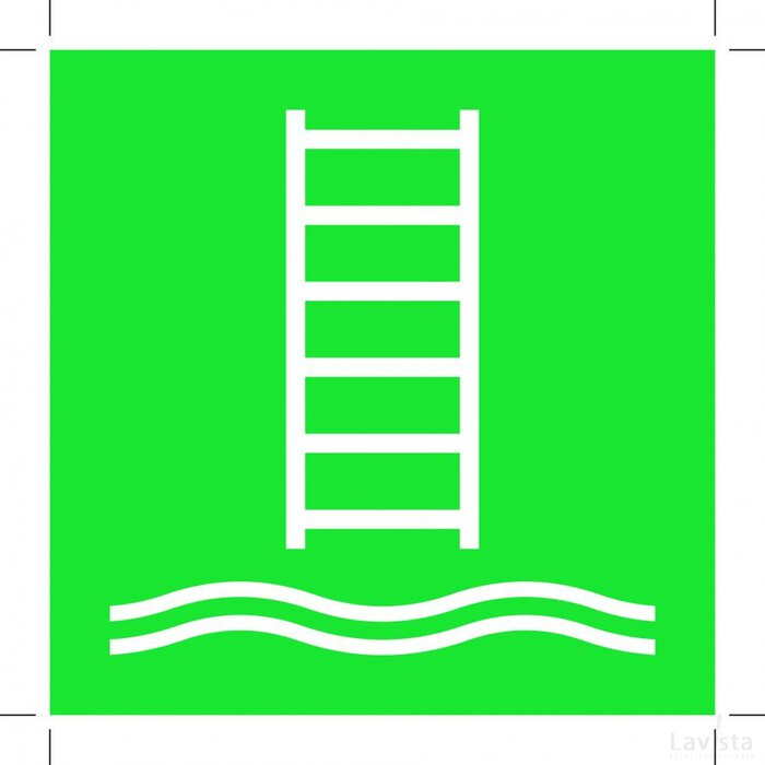 E053: Embarkation Ladder 100x100 (sticker)