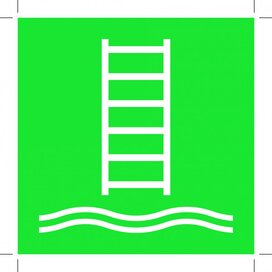 E053: Embarkation Ladder 200x200 (sticker)
