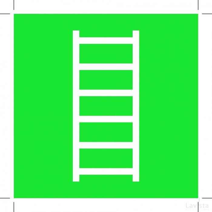 E059: Escape Ladder 300x300 (sticker)