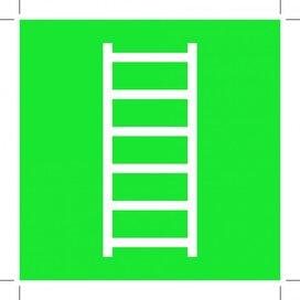 E059: Escape Ladder 500x500 (sticker)