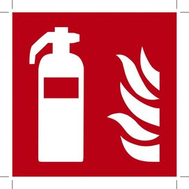 Fire Extinguisher 200x200 (sticker)