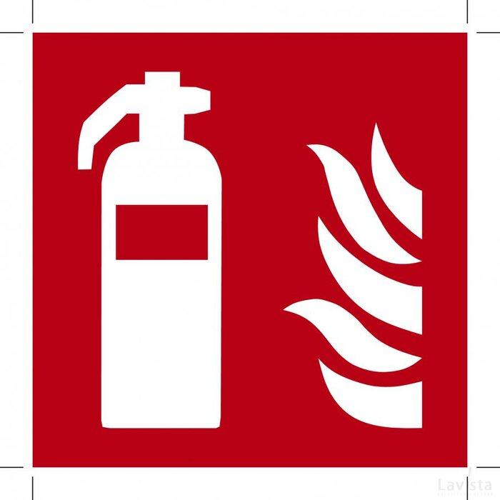 Brandblusser ISO7010 100x100 (bordje)