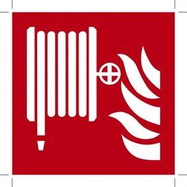 Fire Hose Reel 100x100 (sticker)