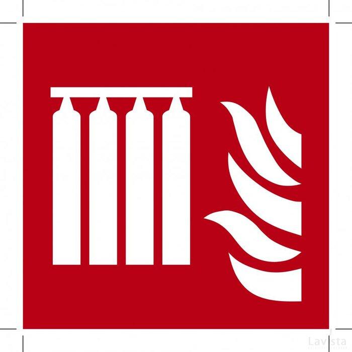 F008: Fixed Fire Extinguishing Battery (Sticker)