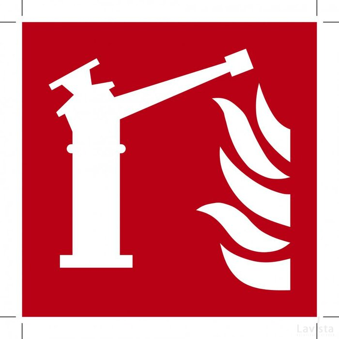 F015: Fire Monitor 100x100 (sticker)