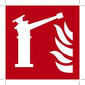 F015: Fire Monitor 150x150 (sticker)