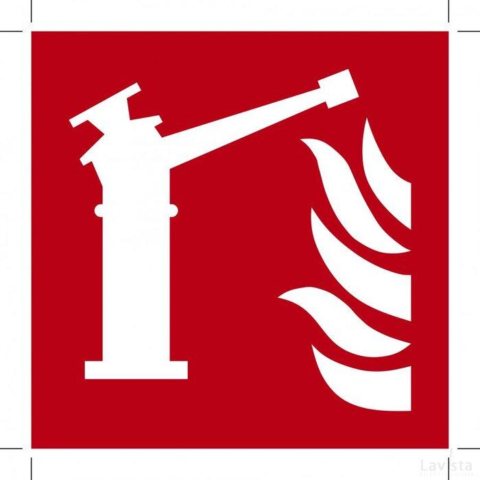 F015: Fire Monitor 100x100 (bordje)