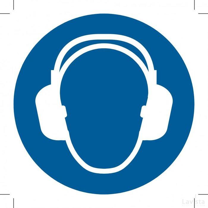 Wear Ear Protection 500x500 (sticker)