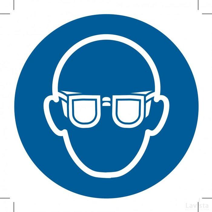 Wear Eye Protection 150x150 (sticker)