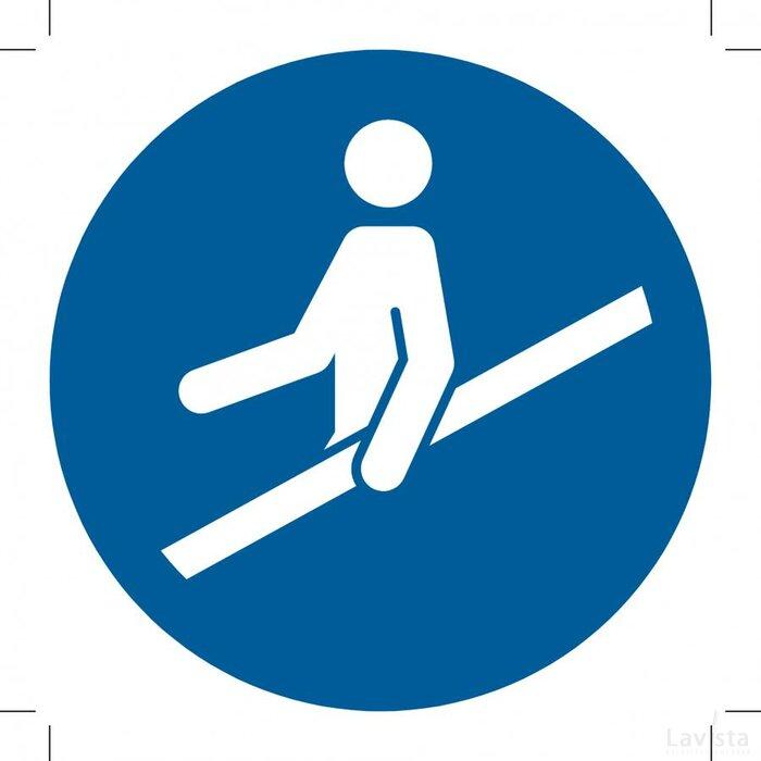 Use Handrail 300x300 (sticker)