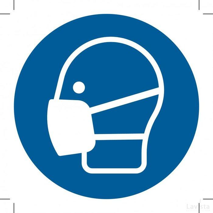 Wear A Mask 500x500 (sticker)