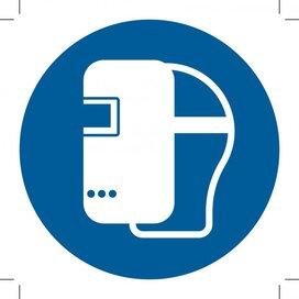 Wear A Welding Mask 400x400 (sticker)
