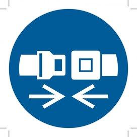 Wear Safety Belts (Sticker)