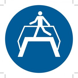 Use Footbridge (Sticker)
