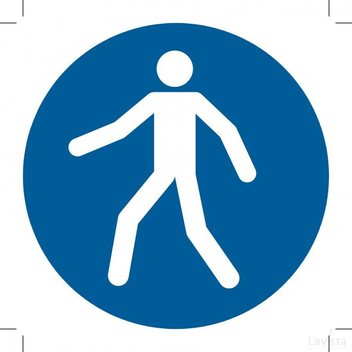 Use This Walkway (Sticker)