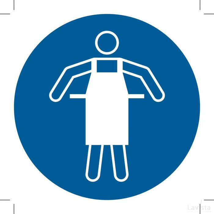 Use Protective Apron 500x500 (sticker)