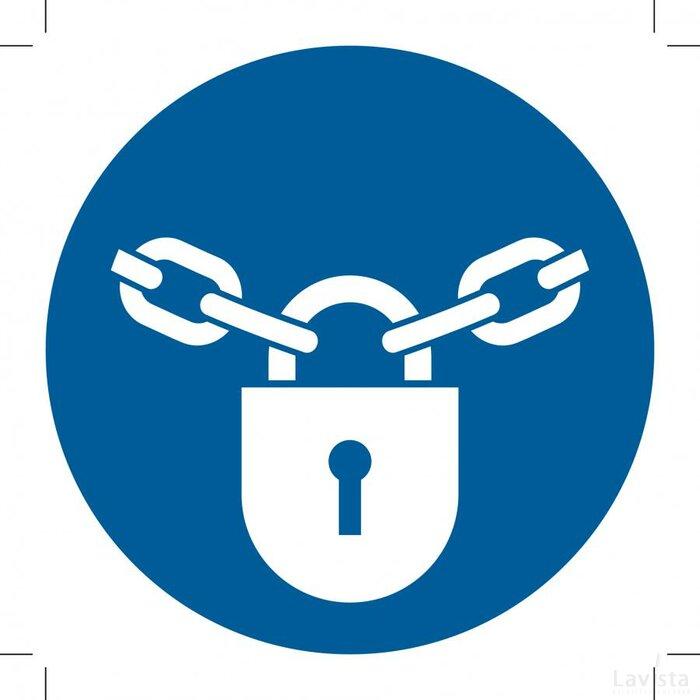M028: Keep Locked 400x400 (sticker)