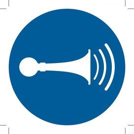 M029: Sound Horn (Sticker)