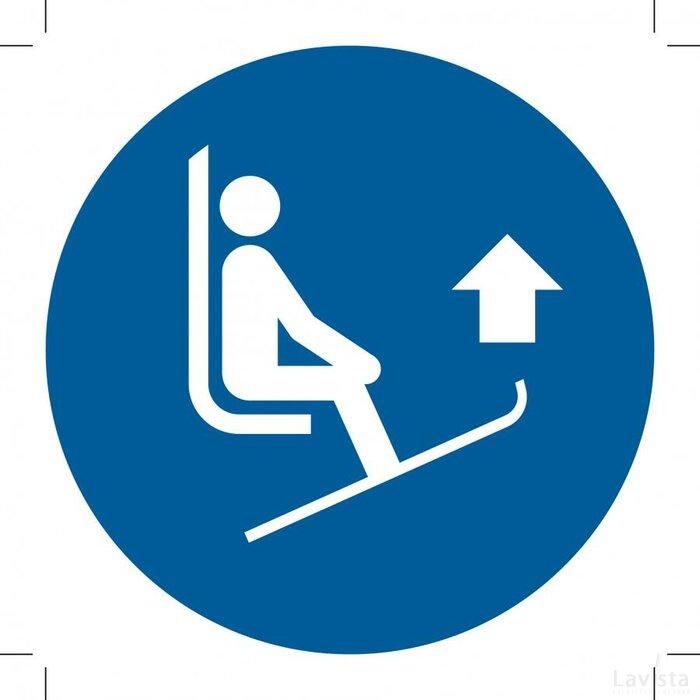 M036: Lift Ski Tips 100x100 (sticker)
