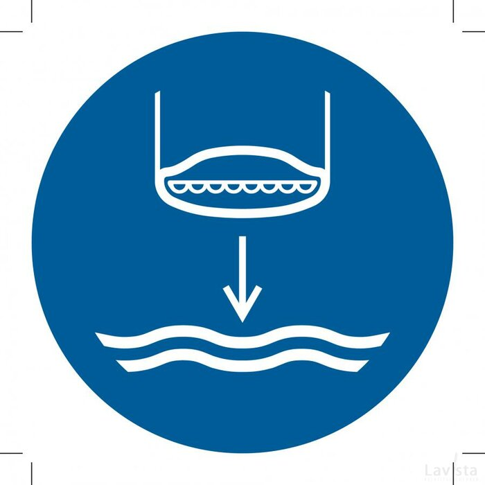 M039: Lower Lifeboat To The Water In Launch Sequence 500x500 (sticker)