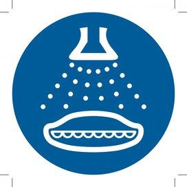 M043: Start Water Spray In Launch Sequence 500x500 (sticker)