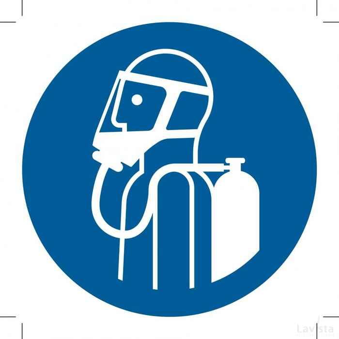M047: Use Self-contained Breathing Appliance 100x100 (sticker)