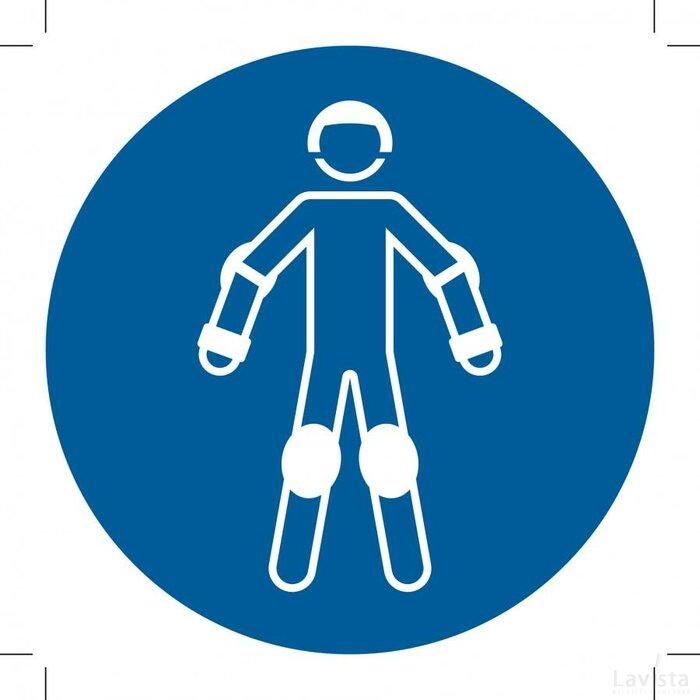 M049: Wear Protective Roller Sport Equipment 300x300 (sticker)