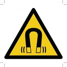 Warning; Magnetic Field (Sticker)