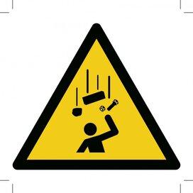 W035: Warning; Falling Objects (Sticker)