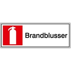 Brandblusser 150 x 150 mm (sticker)
