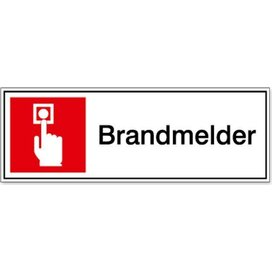 Brandmelder 200x200 (sticker)