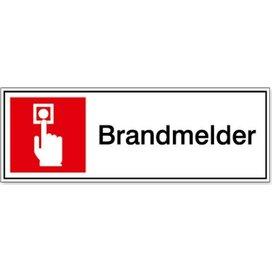 Brandmelder 100x100 (sticker)