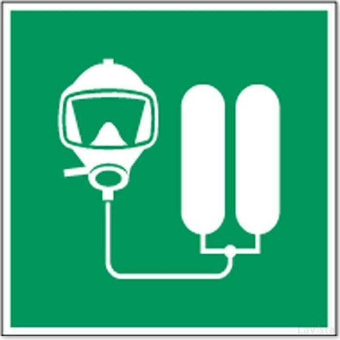 Fotoluminescent Veiligheidspictogram (sticker)
