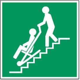 Evacuatiestoel (Sticker)