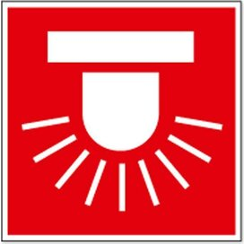 Alarmeringslicht (sticker)