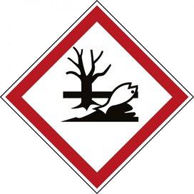 Ghs Symbool - Ghs09 -  Milieugevaarlijk (sticker)